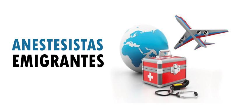 Anestesistas emigrantes